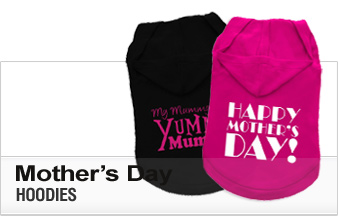 Mother's Day Dog Hoodies