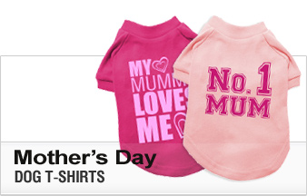 Mother's Day Dog T-Shirts