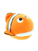 Nemo Fish Plush & Squeaky Dog Toy - You may be wondering how anyone could sink their teeth into Nemo, but we guarantee that's exactly what will happen, this little round ball of a fish will provide hours of fun for your pup, he squeaks with every bite. These soft, cute and cuddly toys are designed for your dog to both snuggle with and...