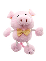 Little Piggy Plush & Squeaky Dog Toy - This little Piggy went to the market, sounds like a better option compared to where he will actually end up, getting chewed to death. He evens squeaks like a piggy so prepare for hours of fun. These soft, cute and cuddly toys are designed for your dog to both snuggle with and play with.