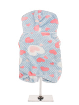 Baby Blue Onesie - Our new season onesie is super soft and features a beautiful heart design. It is so soft and comfortable that you will wish that you could wear it yourself. Super cute pom poms adjust the hood for a super comfy fit. In the long Winter evenings ahead what could be better than a snuggle on the sofa wi...