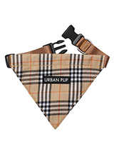 Brown Checked Tartan Bandana - Our Brown Checked Tartan Bandana is a traditional design which is stylish, classy and never goes out of fashion. Just attach your lead to the D ring and this stylish Bandana can also be used as a collar. It is lightweight and incredibly strong. You can be sure that this stylish and practical Bandana...