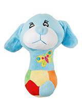 Wee Doggy (Blue) Plush & Squeaky Dog Toy - Wee Doggy is part of the range of cute doggy toys. This toy has cuddly and colourful textures, with an added squeak to entertain your pet! This toy will provide hours of fun for your pup as he squeaks with every bite. These soft, cute and cuddly toys are designed for your dog to both snuggle with an...