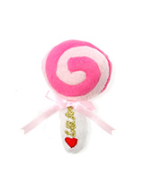 Pink Lollipop Plush & Squeaky Dog Toy - Everyone loves a lolly and we bet your dog is no different. This Pink Lollipop Plush & Squeaky Dog Toy will keep them amused and give them heaps of fun with every squeak. These soft, cute and cuddly toys are designed for your dog to both snuggle with and play with but are also strong enough to stand...