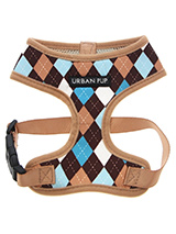 Brown & Blue Argyle Harness - Our Brown & Blue checked Argyle Harness is a traditional Scottish design which represents the Clan Campbell of Argyll in western Scotland. It is stylish, classy and never goes out of fashion. Used for kilts and plaids, and for the patterned socks worn by Scottish Highlanders since at least the 17th...
