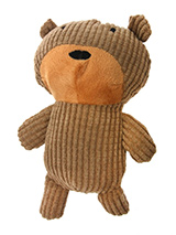 Brown Cuddle Bear Toy - Everyone likes a cuddle and as you can't be there all the time then the next best thing to keep you bestie content is their very on Cuddle Bear. Having said that we all know that dogs will be dogs and if Cuddle Bear has to take a bit of throwing around then he is up for that as well. This toy will p...