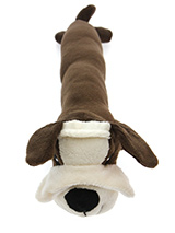 Frank Furter Dog Toy - Our Frank Furter Dog Toy is long and slim with an added squeak to entertain your pet! This toy will provide hours of fun for your pup as he squeaks with every bite and is sure to become your dogs best friend. These soft, cute and cuddly toys are designed for your dog to both snuggle with and play wi...