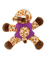 Giraffe Ball Toy - The body of our Giraffe Ball Toy is covered with a hard rubber 'waistcoat' and is a great interactive toy for playing 'fetch'. He is quite robust and will stand up to a lot of chewing and biting. The rest of him is cuddly and colourful with an added squeak to entertain your pet! This toy will provid...