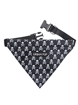 Skulls & Crossbones Bandana - Our Skulls & Crossbones Bandana is one for all the bad boys and girls out there. Just attach your lead to the D ring and this stylish Bandana can also be used as a collar. It is lightweight and incredibly strong. You can be sure that this stylish and practical Bandana will be admired from both near...