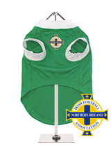 Northern Ireland Football Team Shirt - Take a trip back to the future with our Northern Ireland Retro Football Shirt. Based on the iconic 1967 shirt worn by our own George Best at the height of his powers when his skill stunned the world. This is another great way to get behind the team and to let those around you know where your heart b...