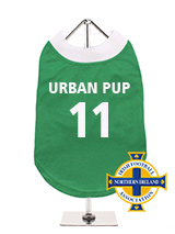 Northern Ireland Football Team Shirt (Personalised) - Take a trip back to the future with our Official Northern Ireland Personalised Retro Football Shirt. Based on the iconic 1967 shirt worn by our own George Best at the height of his powers when his skill stunned the world. This is another great way to get behind the team and to let those around you k...