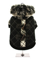 Tartan Duffle Coat with Detachable Hood