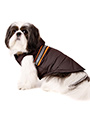 Brown Hi-Vis Bodywarmer with Fur Trimmed Hood