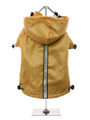 Gold Fleece-Lined Raincoat