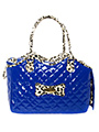 Patent Blue Pet Carrier