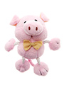 Little Piggy Plush & Squeaky Dog Toy