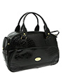 Black Croc Pet Carrier