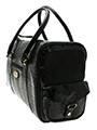 Black Snakeskin Pet Carrier