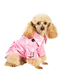 Pink Waterproof Trench Coat
