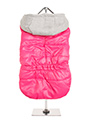 Hot Pink Bodywarmer with Cotton Hood