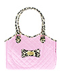 Patent Pink Pet Carrier