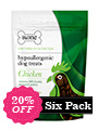 Hypoallergenic Dog Treats - Chicken (Six Pack)