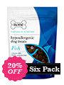 Hypoallergenic Dog Treats - Fish (Six Pack)