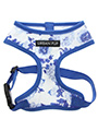 Blue Floral Bouquet Harness