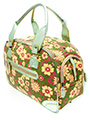 Green Floral Carrier