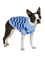 Checkerboard Blue Sweater