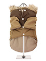 Brown on Brown Two Tone Parka