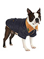 Navy Blue Quilted Town & Country Coat