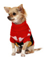 Red Paws Sweater