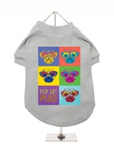 ''Pup Art: PUG'' Dog T-Shirt