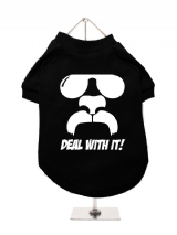 ''Deal With It!'' Dog T-Shirt