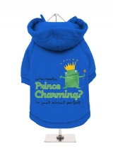 ''Prince Charming?'' Fleece-Lined Dog Hoodie / Sweatshirt