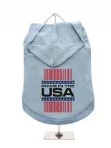 ''Made in the USA #1'' Dog Hoodie / T-Shirt