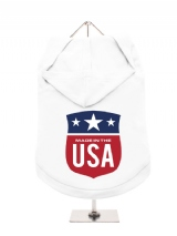 ''Made in the USA #2'' Dog Hoodie / T-Shirt
