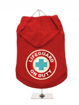 ''Lifeguard On Duty'' Dog Hoodie / T-Shirt