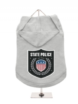 ''State Police'' Dog Hoodie / T-Shirt