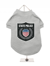 ''State Police'' Dog T-Shirt