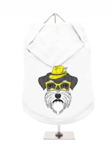 ''Humanimals: Schnauzer'' Dog Hoodie / T-Shirt