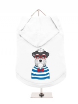 ''Humanimals: Sailing Schnauzer'' Dog Hoodie / T-Shirt