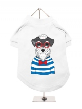 ''Humanimals: Sailing Schnauzer'' Dog T-Shirt