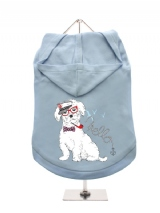 ''Humanimals: Captain Westie'' Dog Hoodie / T-Shirt