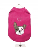 ''Humanimals: French Bulldog'' Harness-Lined Dog T-Shirt