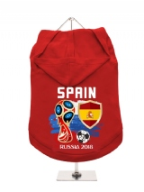 ''World Cup 2018: Spain'' Dog Hoodie / T-Shirt