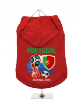 ''World Cup 2018: Portugal'' Dog Hoodie / T-Shirt