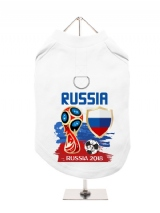 ''World Cup 2018: Russia'' Harness-Lined Dog T-Shirt