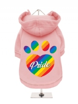 ''Pride'' Fleece-Lined Dog Hoodie / Sweatshirt